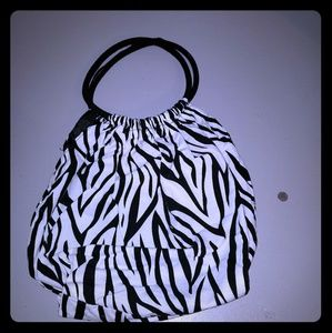 Handbags - Fun zebra print bag